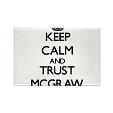 Keep calm and Trust Mcgraw Magnets