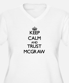 Keep calm and Trust Mcgraw Plus Size T-Shirt