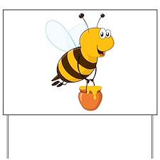 Honey Pot Bee Yard Sign