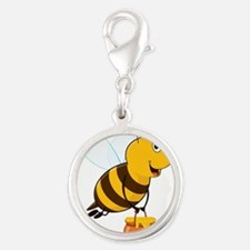 Honey Pot Bee Charms
