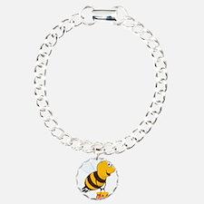 Honey Pot Bee Bracelet