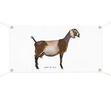 Nubian Dairy Goat Banner