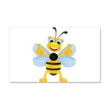 Thumbs up Bee Car Magnet 20 x 12