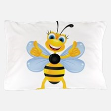 Thumbs up Bee Pillow Case