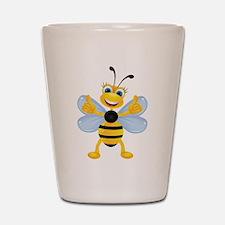 Thumbs up Bee Shot Glass