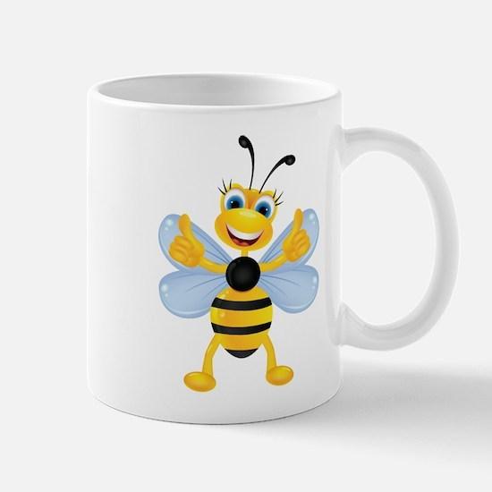Thumbs up Bee Mugs