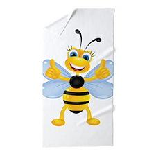 Thumbs up Bee Beach Towel