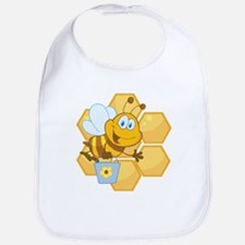 Honeycomb Bee Bib