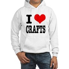 I Heart (Love) Crafts Hoodie
