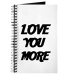 LOVE YOU MORE 4 Journal