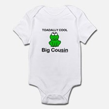 Toadally cool big cousin Infant Bodysuit