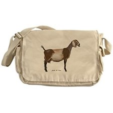 Nubian Dairy Goat Messenger Bag