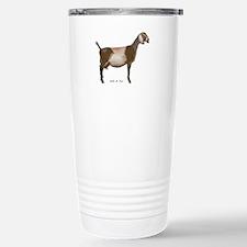Nubian Dairy Goat Stainless Steel Travel Mug
