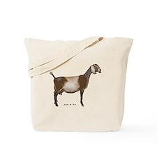 Nubian Dairy Goat Tote Bag