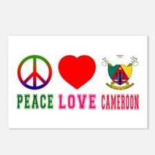 Peace Love Cameroon Postcards (Package of 8)