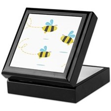 Bee Trio Keepsake Box