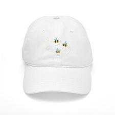 Bee Trio Baseball Baseball Cap