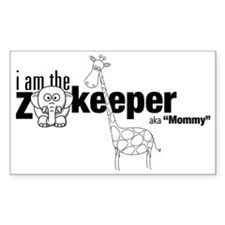 Mommy Zookeeper Decal