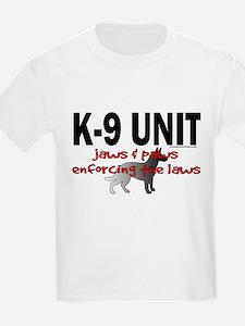 K9 UNIT: Jaws & Paws T-Shirt