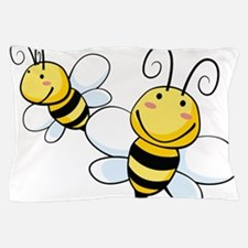 Bee Duo Pillow Case