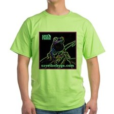 SAVE THE FROGS! Glowing Frog T-Shirt