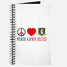 Peace Love British Virgin Islands Journal