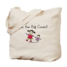 Girl-I'm the big cousin Tote Bag