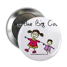 Girl-I'm the big cousin Button