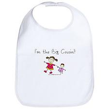 Girl-I'm the big cousin Bib