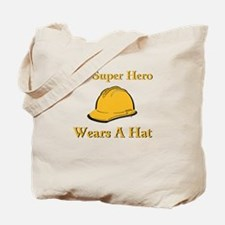 My Super Hero Construction Worker Tote Bag