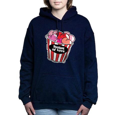 bucket of love png.png Hooded Sweatshirt