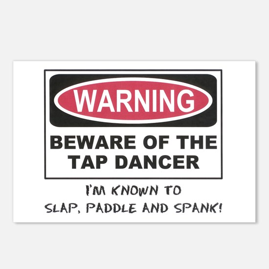 Beware of Tap Dancer Postcards (Package of 8)