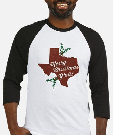 Merry Christmas Y'all! Baseball Jersey