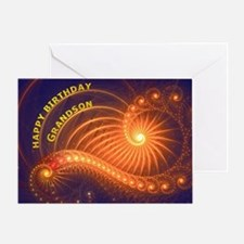 Birthday card for a grandson Greeting Cards