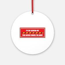 I'm the Elevator Guy Ornament (Round)