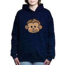 cute little monkey face Hooded Sweatshirt