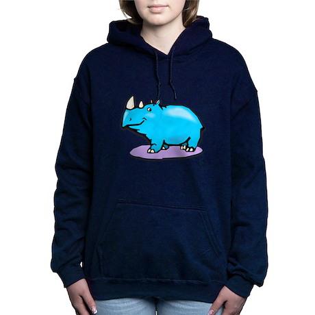 blue rhino.psd Hooded Sweatshirt