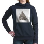 RHINO vvMAD copy.jpg Hooded Sweatshirt
