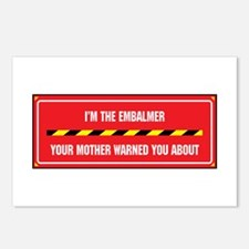 I'm the Embalmer Postcards (Package of 8)