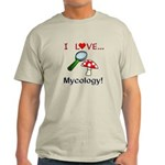 I Love Mycology Light T-Shirt