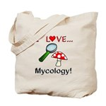 I Love Mycology Tote Bag