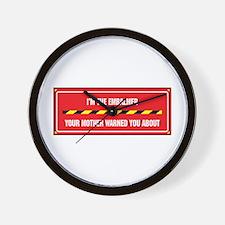 I'm the Embalmer Wall Clock