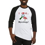 I Love Mycology Baseball Jersey