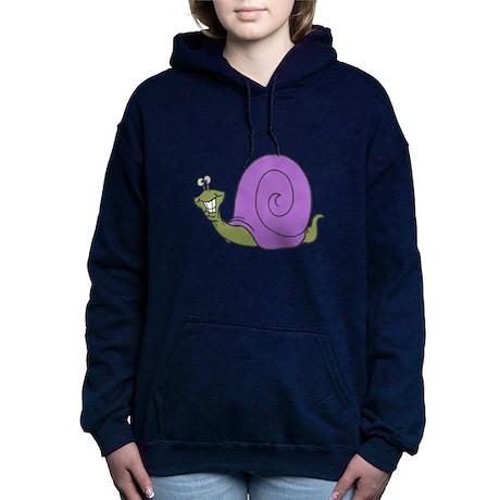 happy snail copy.png Hooded Sweatshirt