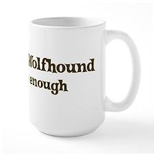 One Irish Wolfhound Mugs