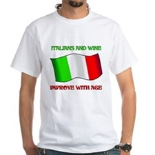 Italians And Wine Improve Wi Shirt