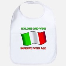 Italians And Wine Improve Wi Bib