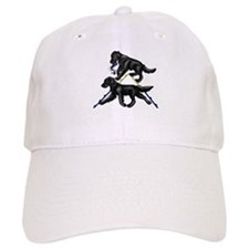 Flat Coated Retrievers Agility Baseball Baseball Cap