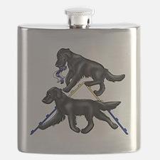 Flat Coated Retrievers Agility Flask