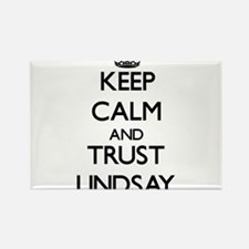 Keep calm and Trust Lindsay Magnets